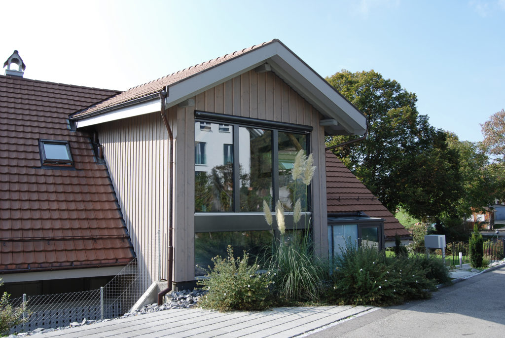 umbau wohnungseinbau anbau bauernhaus wikartswil bauspektrum. Black Bedroom Furniture Sets. Home Design Ideas
