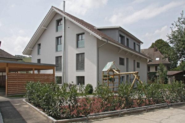 Neubau MFH im Minergie-Standard, Stettlen