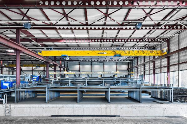 Neubau Fabrikations- und Bürogebäude Riedo Bau + Stahl AG