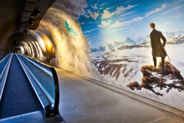 Rundgangstollen Sphinxhalle – Eispalast, Grindelwald / Fieschertal