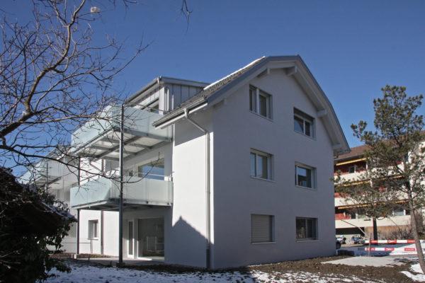 Um- und Anbau MFH im Minergie Standard, Münsingen