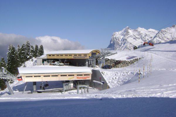 Neubau Sesselbahnen Arvengarten-Honegg/Eigernordwand, Grindelwald
