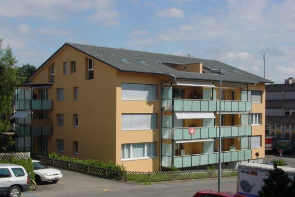 Sanierung und Dachausbau MFH, Zollikofen