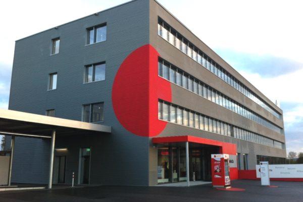Neubau Büro- und Logistikgebäude, Kirchberg