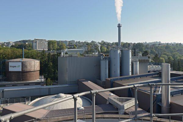Neubau Klärschlamm- Verwertungsanlage