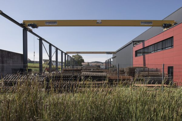 Neubau Produktionshalle Eschlikon